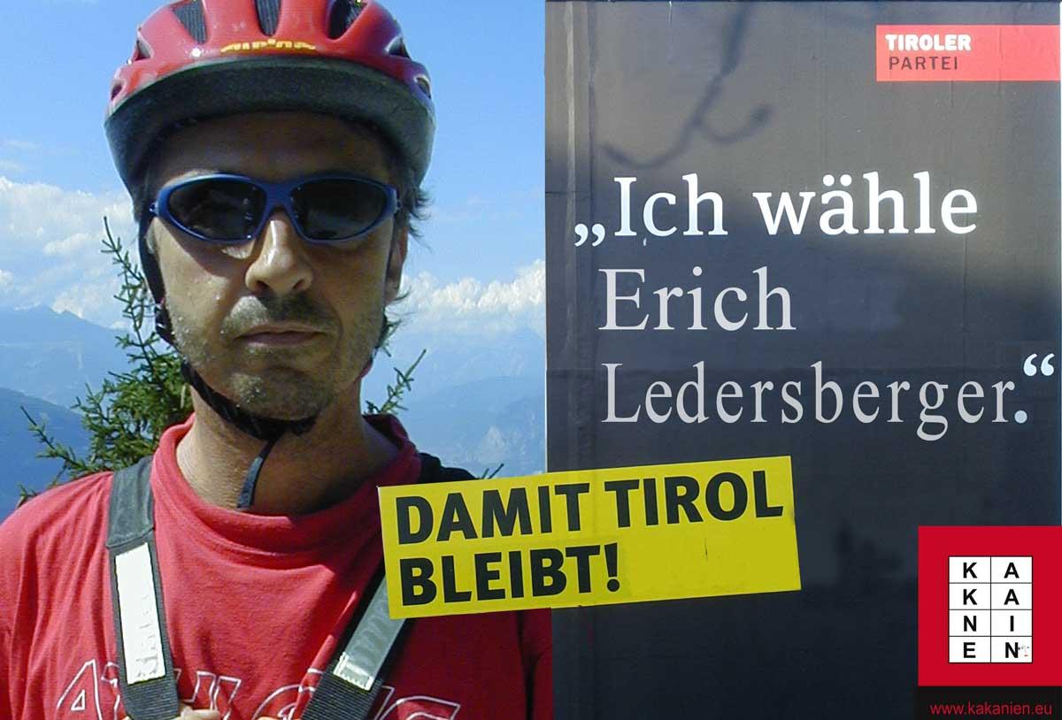 Wahlwerbung in Tirol 2