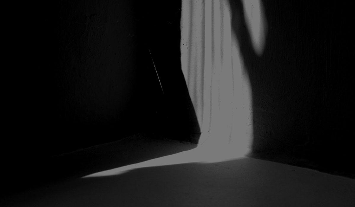 Der Keller ist dunkel