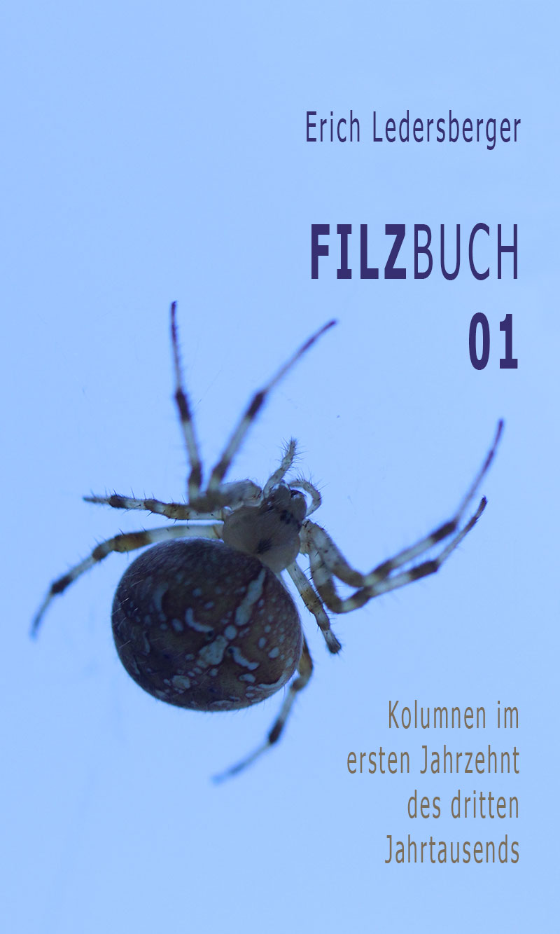Erich Ledersberger. Filzbuch 01. Digital.