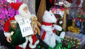 Weihnachtsmann, günstig!
