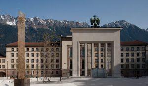 Ehemaliger Landhausplatz in Innsbruck