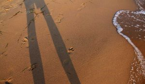 Selfie mit Meer
