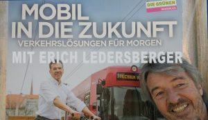 Erich Ledersberger und die Grünen