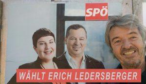 Erich Ledersberger als Kandida der SPÖ