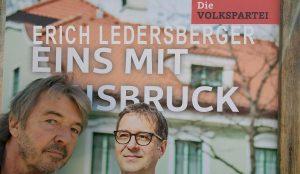 Erich Ledersberger ist eins mit Innsbruck